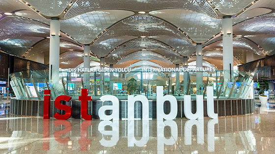 IGA Istanbul New Airport Transfer or Shuttle